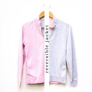 Tommy Bahama | Reversible 2 Color 3/4 Zip Jacket